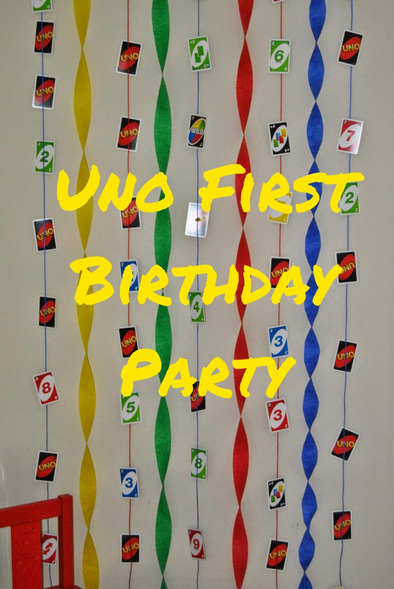 uno first birthday party
