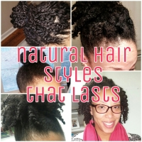 natural hair styles that last
