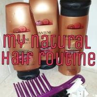 My Natural Hair Routine