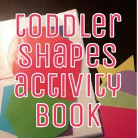 toddler shapes activity book