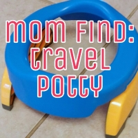 mom find: travel potty